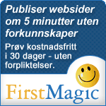 FirstMagic er FirstClass webpublisering, enda enklere enn før :-)